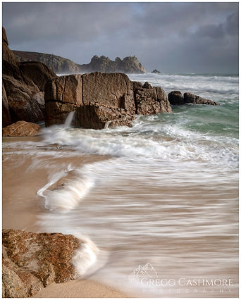 Porthcurno, Cornwall.