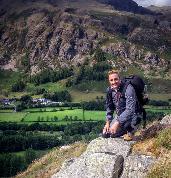 Hiking In The Lake District.