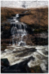 Glen Etive Waterfall, Scotland.