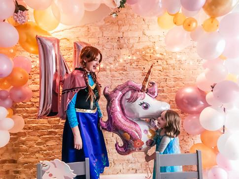 Prinzessinnen-Einhorn Party