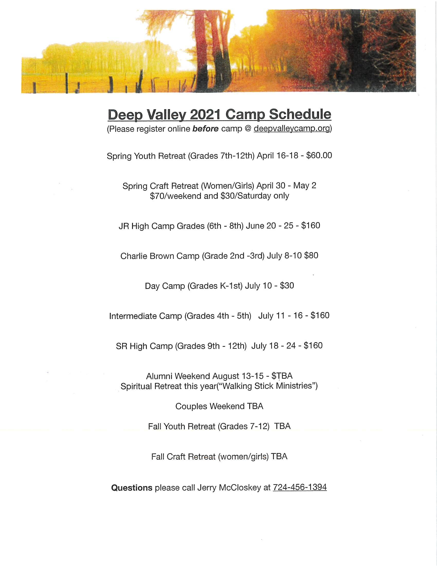 Deep Valley Camp