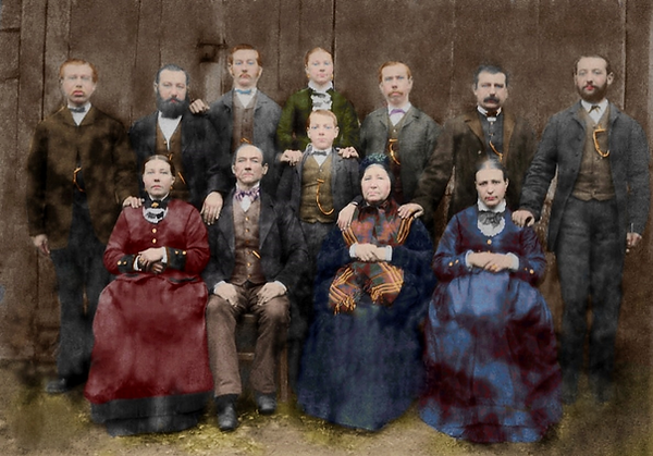 FamiliefotoDeBockSint-Denijs-Boekelingek