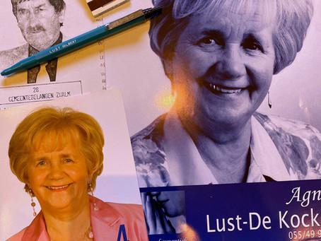 Overlijden ereschepen Agnes De Koker - Lust (+08/03/2020)