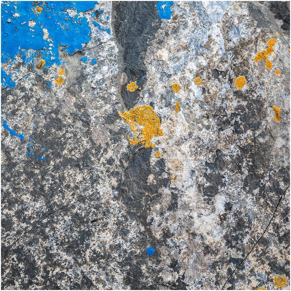 'Pollocked Stone' by Paul Killeen (8 marks)