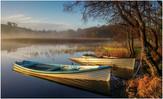 'Morning Light on Fishing Boats' by Mark Winning ( 12 marks )