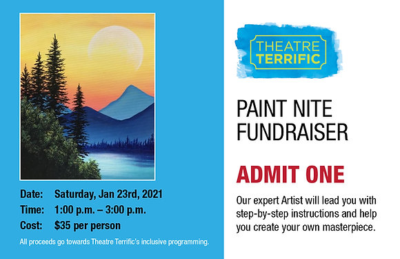 Paint Nite Fundraiser Ticket