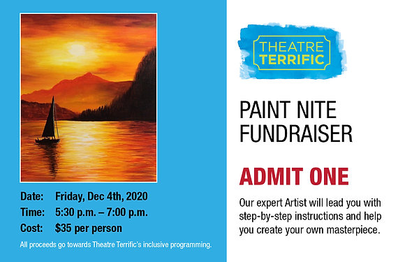 Paint Nite Fundraiser Ticket