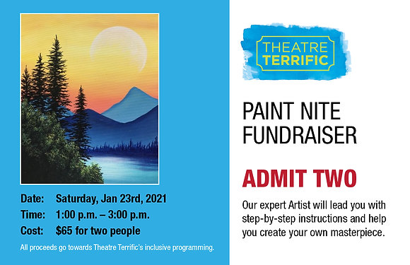 Paint Nite Fundraiser Ticket for Two