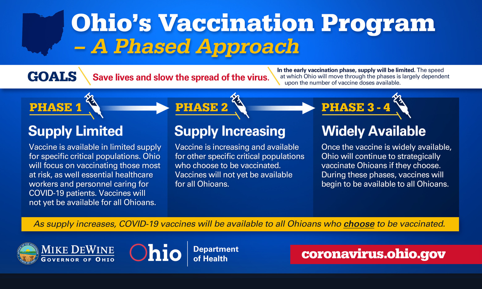 Vaccination Program Phases