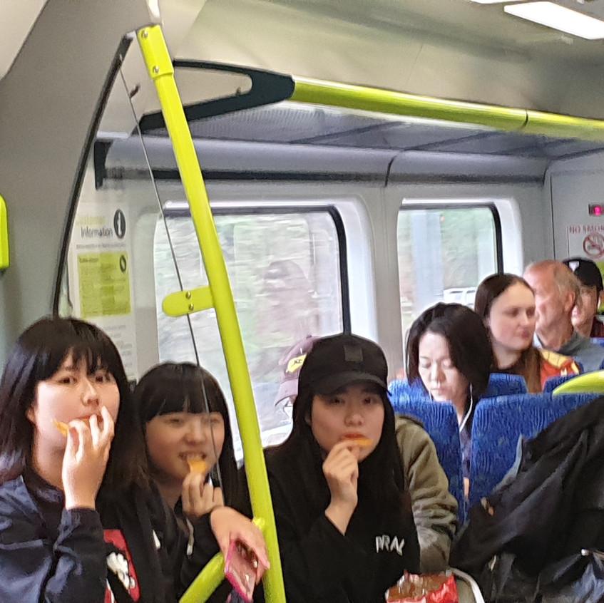 1 train Masa Marin