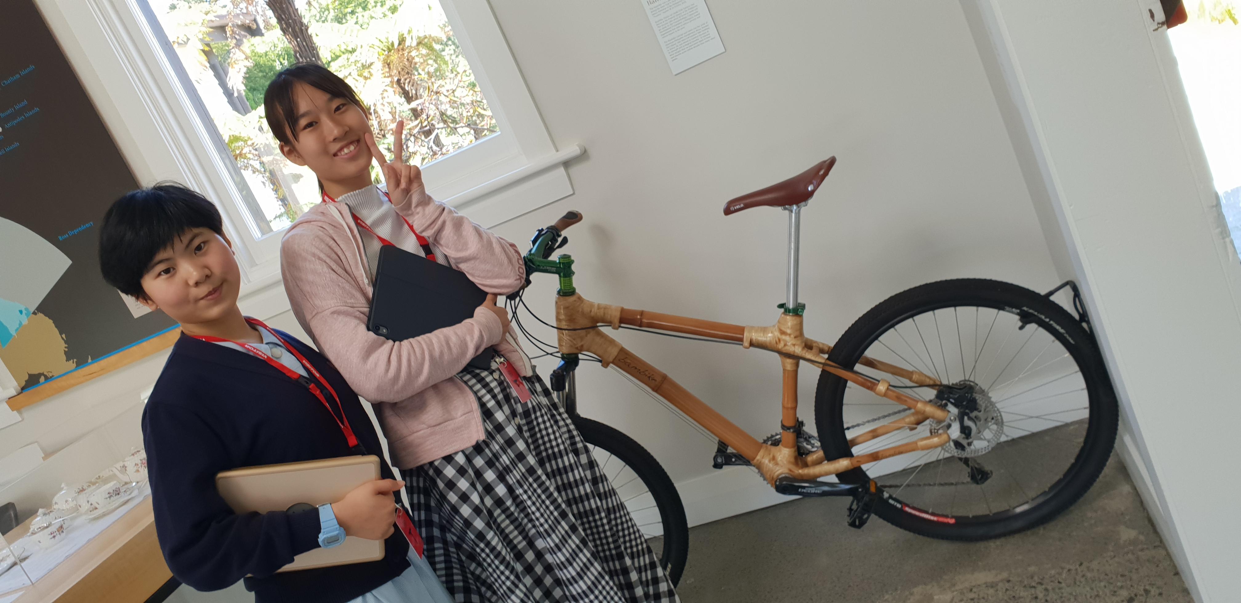 yuiko emi bamboo bicycle