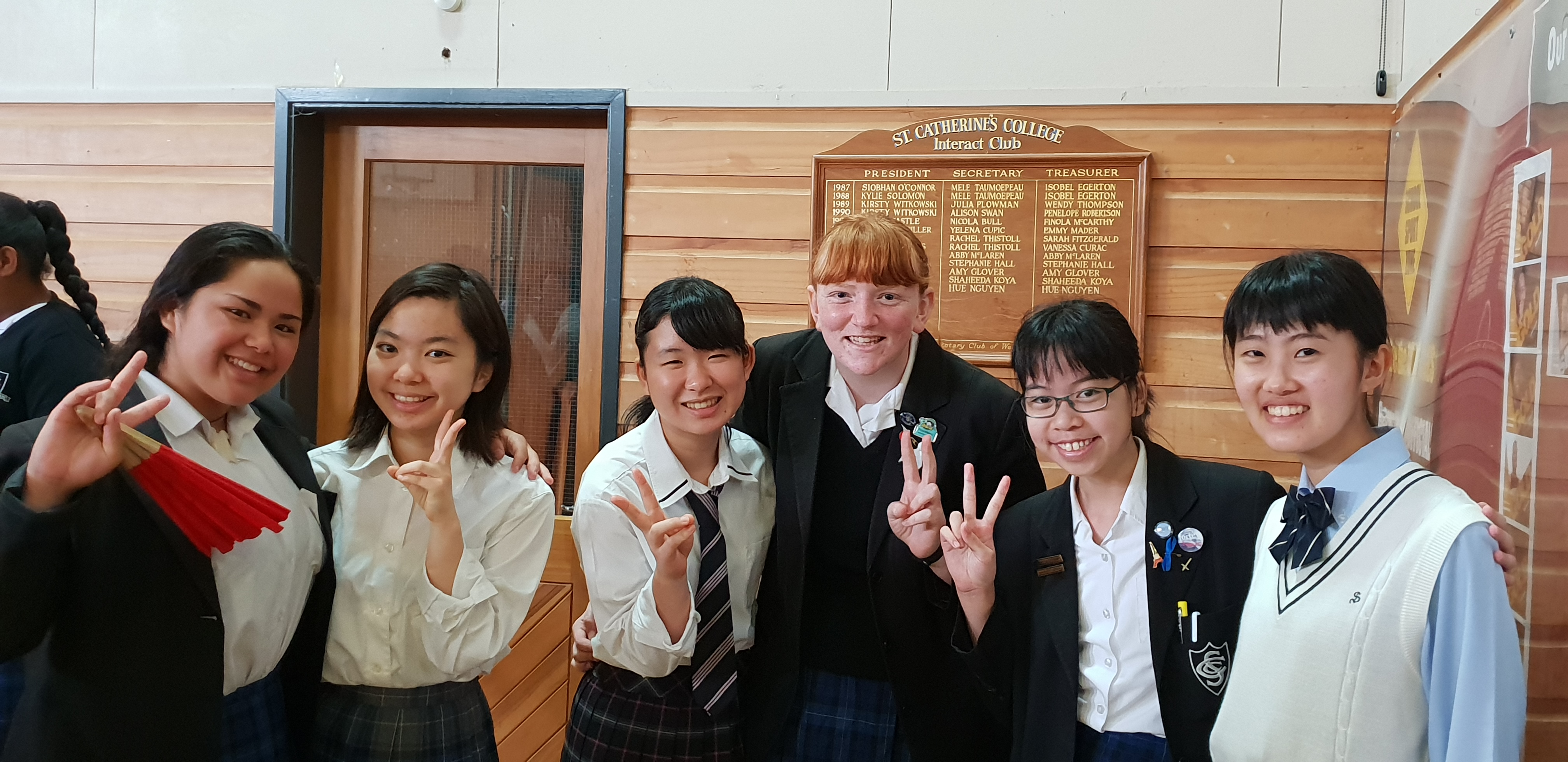 3 riko yuiko haruna with buddies