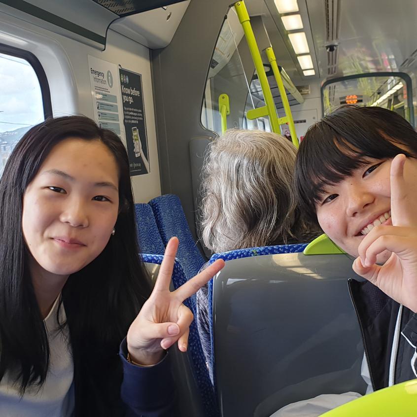 1 Hoshino Honoka Train
