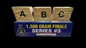 1500 Gram Finale Series #3