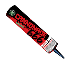 Cannonade 666 Candle
