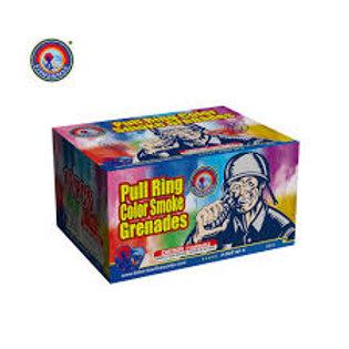 Color Pull Ring Smoke Grenades