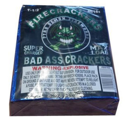 Bad Ass Crackers 40/16