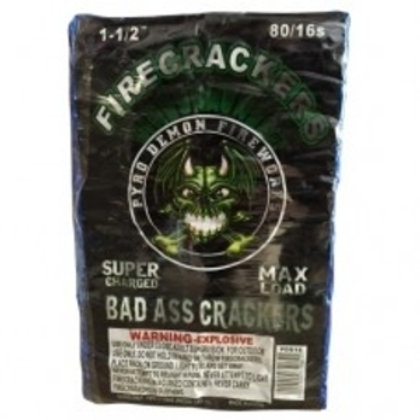 Bad Ass Crackers 80/16