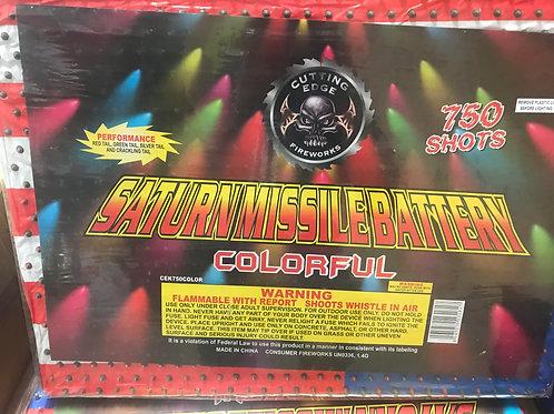 750 Shot Color Saturn Missile Battery