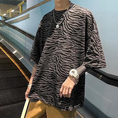 レオパード柄Tシャツ XZ2019052225