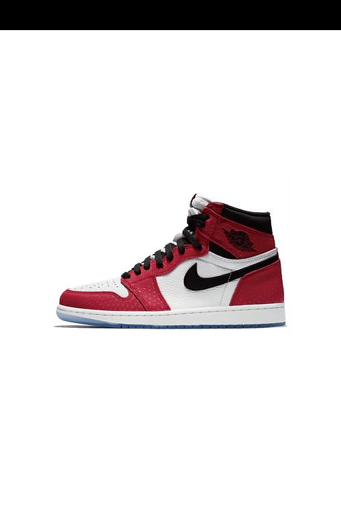 Nike Air Jordan 1 Retro High Spider-Man Origin Story 555088-602