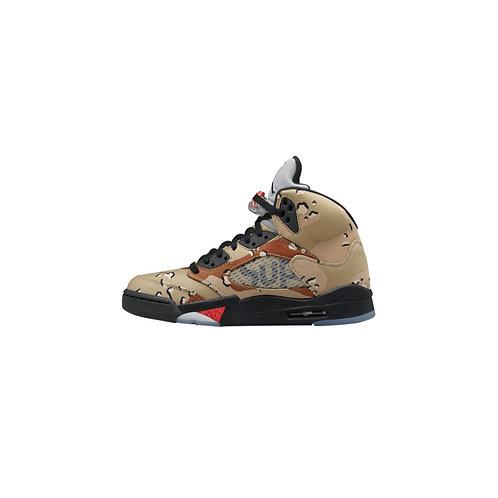 Nike Air Jordan 5 Retro Supreme Desert Camo 824371-201
