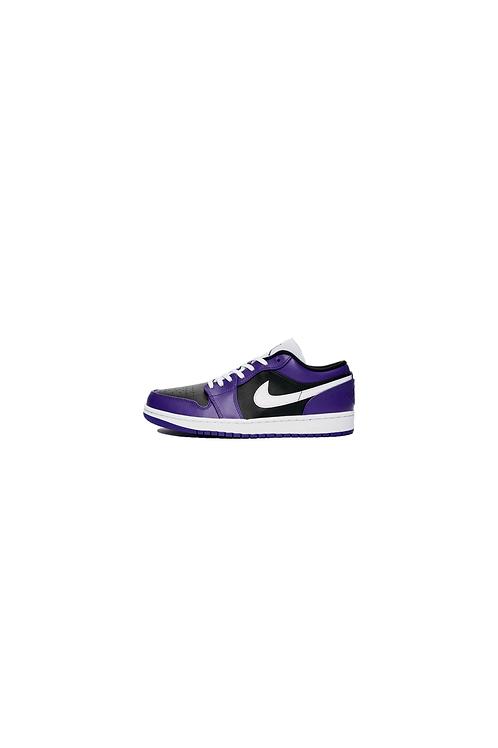 Nike Air Jordan 1 Low Black Purple 553558-501