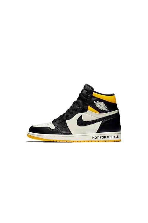 "Nike Air Jordan 1 Retro High ""Not for Resale"" Varsity Maize  861428-107"
