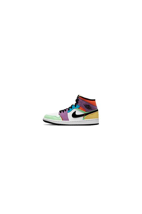 Nike Air Jordan 1 Mid Multicolor Womens