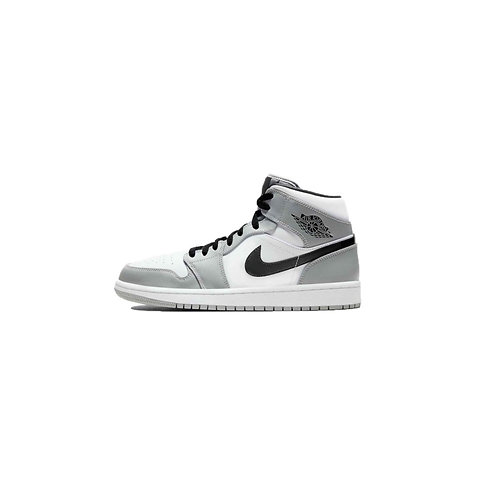 Nike Air Jordan 1 Mid Light Smoke Grey 554724-092