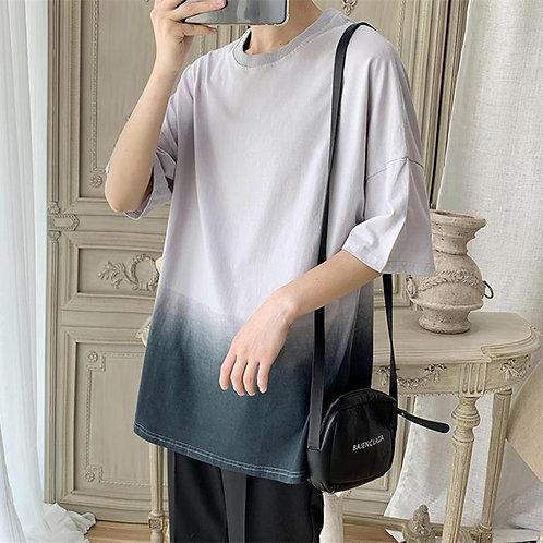 カジュアルグラデーションTシャツ XZ2019052226