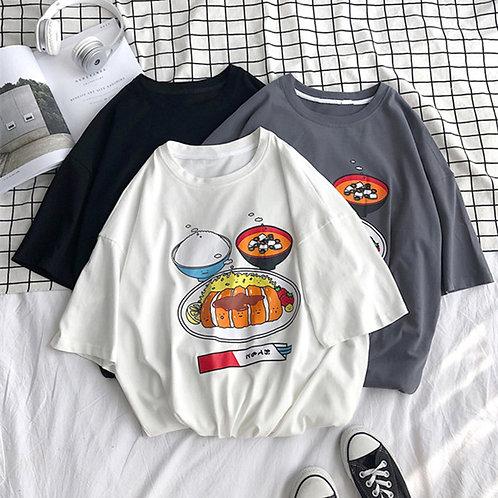 カジュアルプリントTシャツ ZY2019050512-XZ
