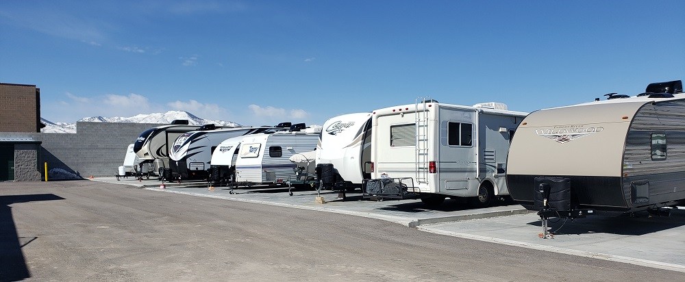 RV, Travel Trailer & Camper Storage in West Jordan, Utah