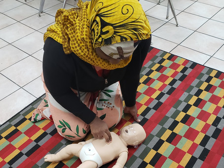 CPR & First Aid Training Classes for Employees of a Child Care Center
