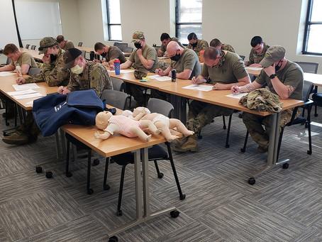 Utah National Guard in West Jordan Gets CPR & PALS Training