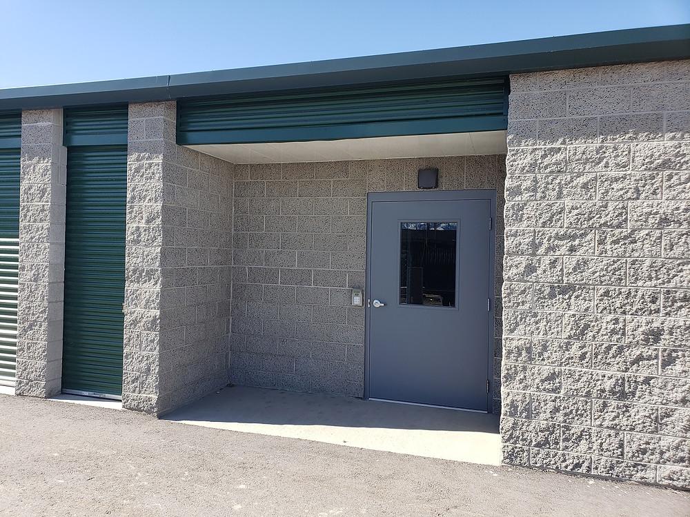 Oquirrh View Storage Secured Storage Entry