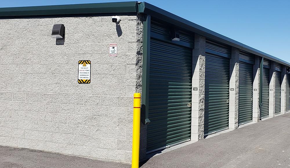 Oquirrh View Storage 24 Hour Security Cameras