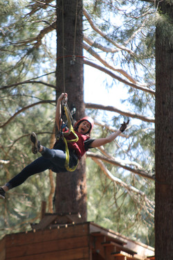 Camp Dakota Zip line Tours in Oregon