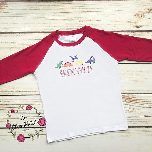 Dinosaur Heart Shirt