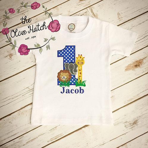 Safari Applique Shirt