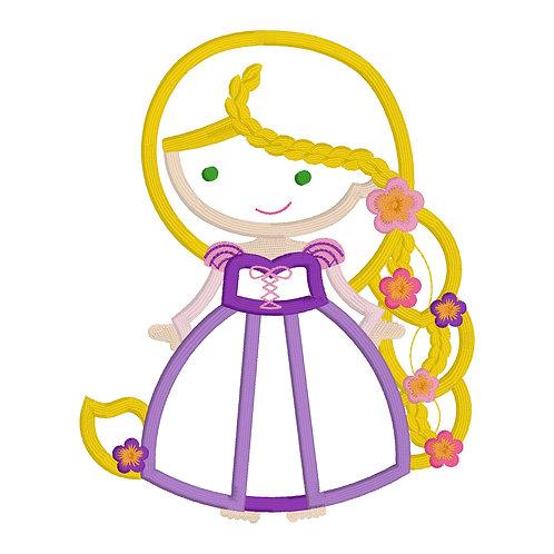Rapunzel Applique Design Shirt