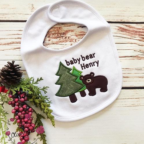 Forest Bear Bib