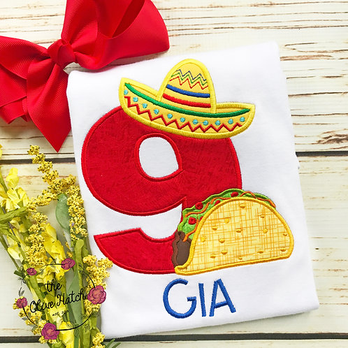 Fiesta Birthday Shirt