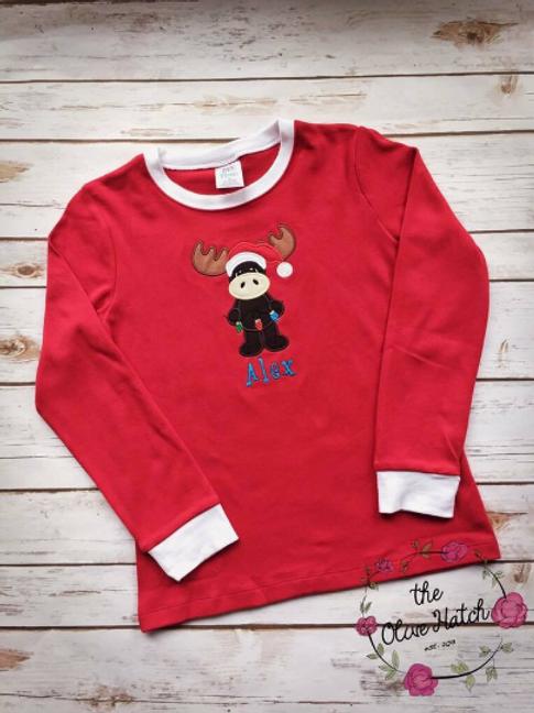 Moose Christmas Shirt