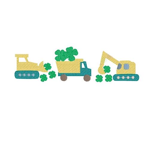 St Patricks Construction Sketch Shirt