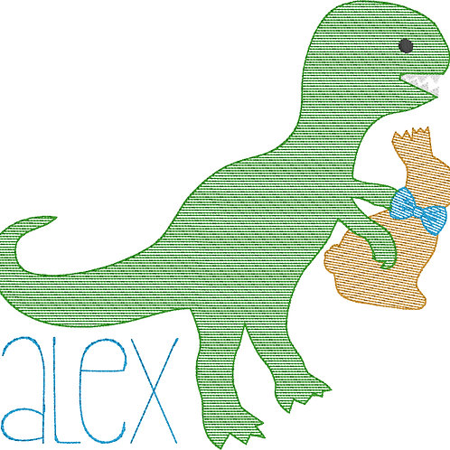 Easter Dinosaur Sketch