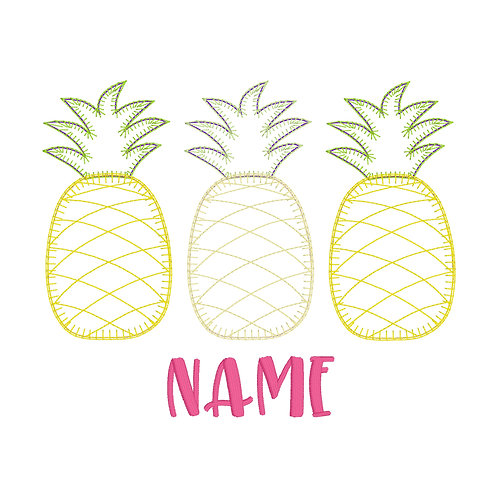 Pineapple Applique