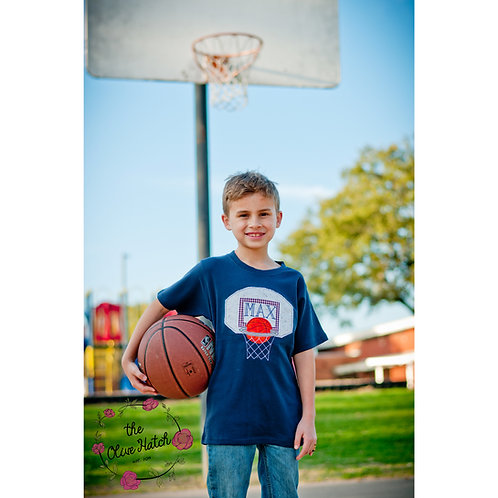 Basketball Shirt -- Applique