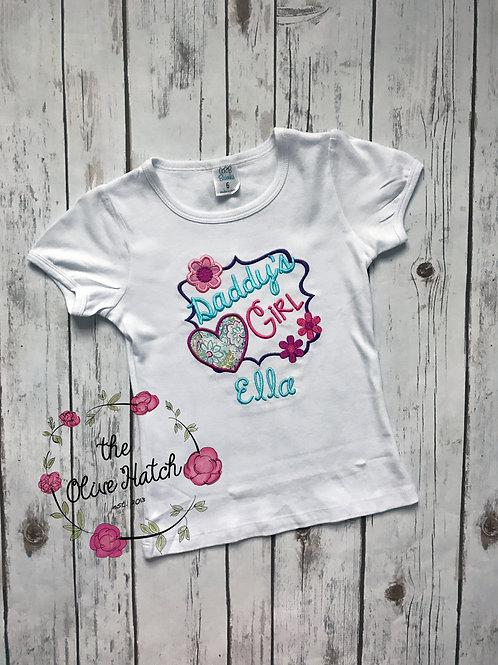Daddy's Girl Shirt -- Applique