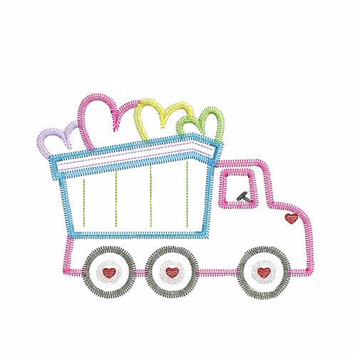 Valentine Dump Truck Shirt